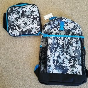 NWT Children's Place Back Pack and Lunch Bag Set